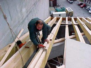 Travaux toiture grande hauteur