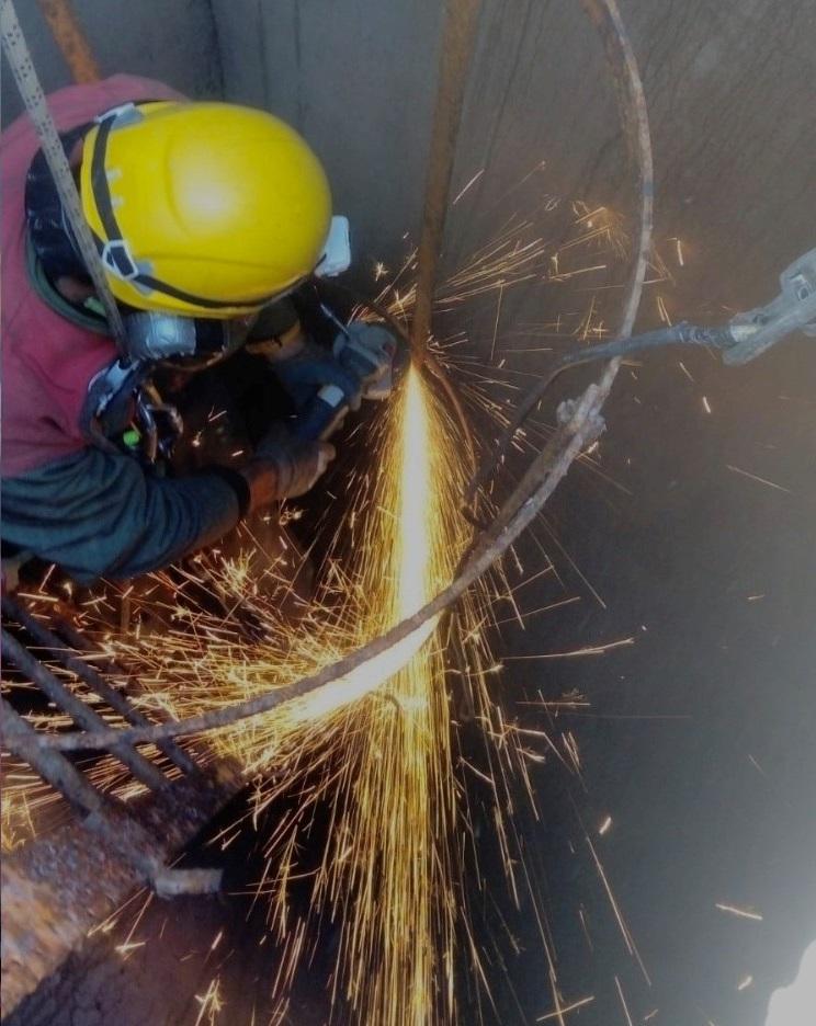 travaux industrie